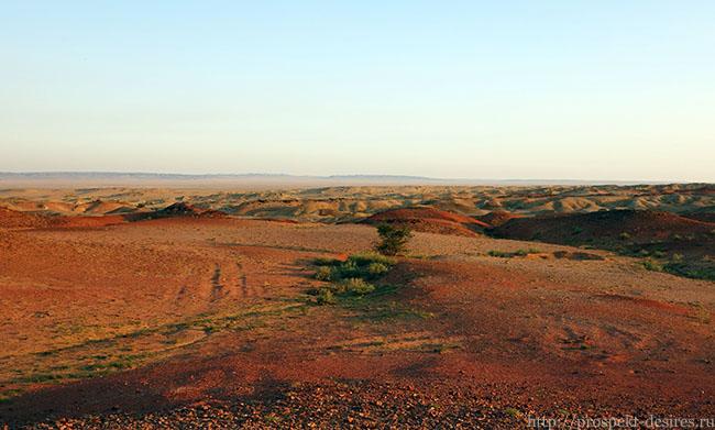 путешествие в пустыню гоби