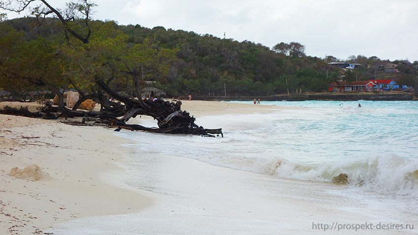 гуардалавака пляж куба
