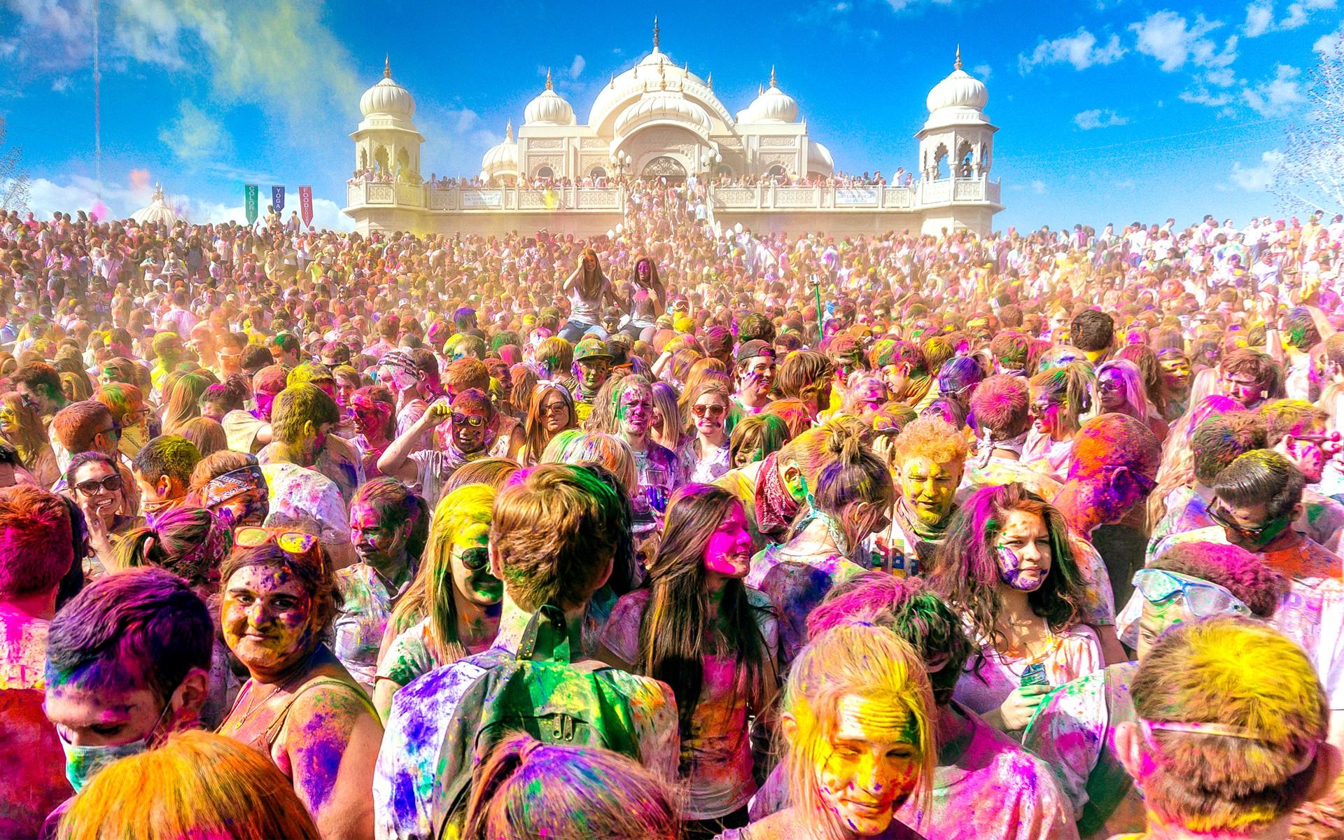 тур в Индию на праздник Холи