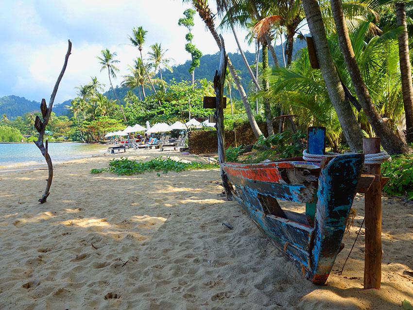 жилье недалеко от пляжа на ко чанге