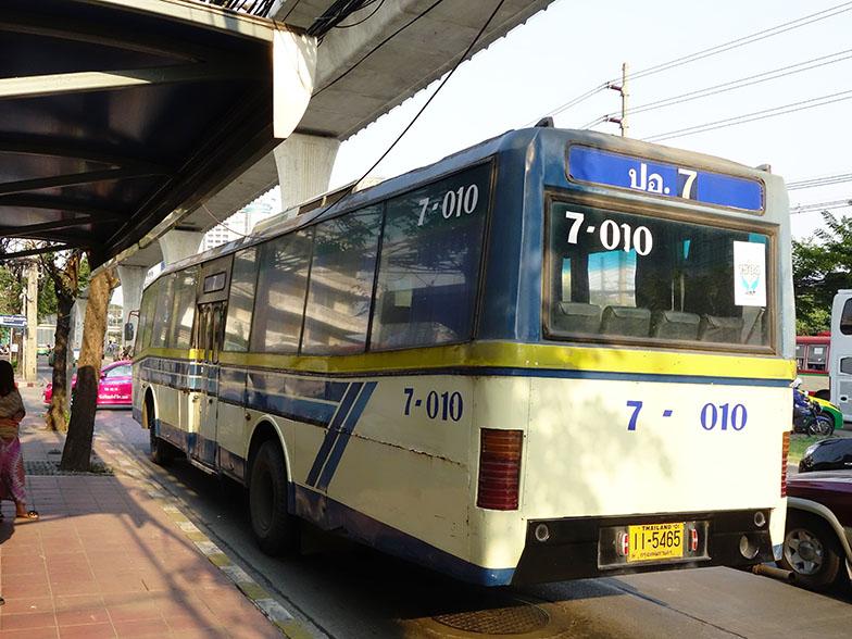 общественный транспорт автобусы в бангкоке
