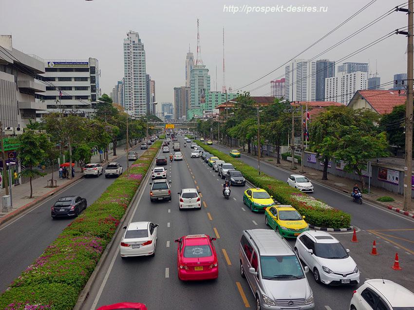 в бангкоке общественный транспорт такси
