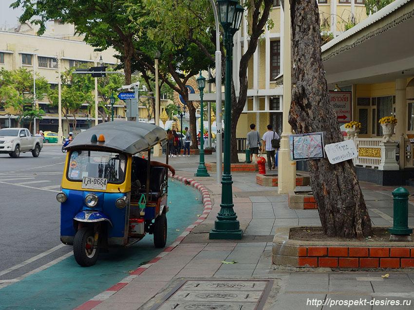 мото такси в бангкоке