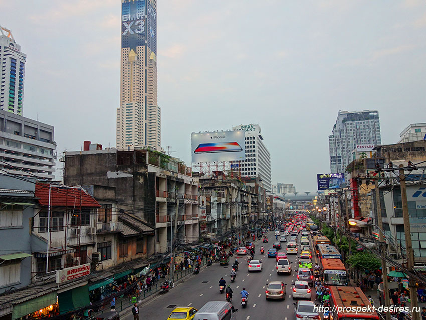 на чем перемещаться в бангкоке общественный транспорт