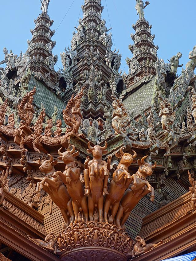 Храм Истины в Паттайе: фото, как добраться самостоятельно, цены