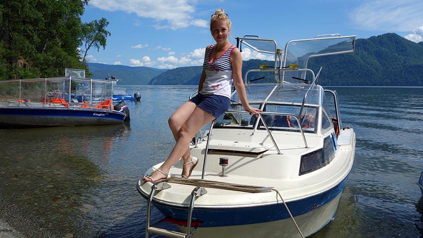 отдых на телецком озере летом