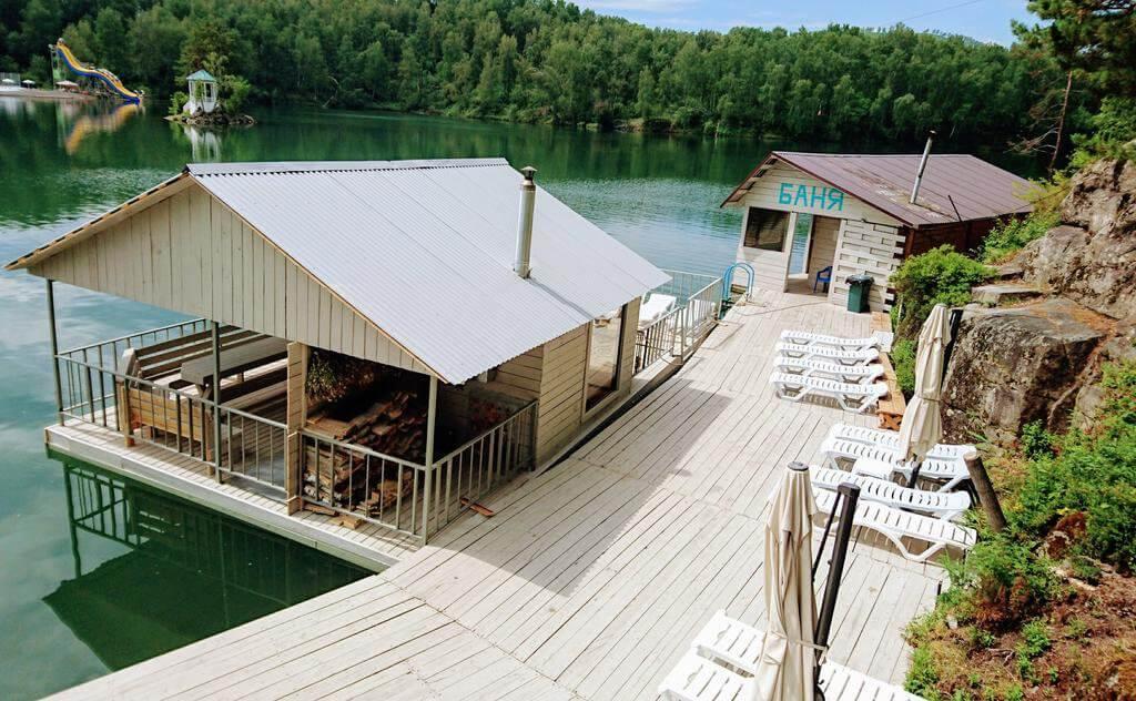 озеро Ая отель на берегу озера