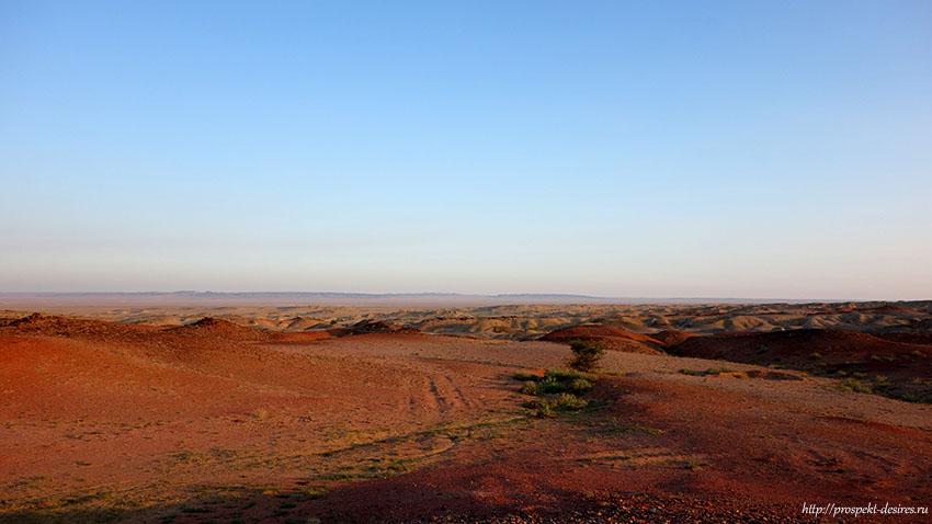 пустыня Гоби на машине