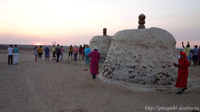 женский ритуал в Гоби