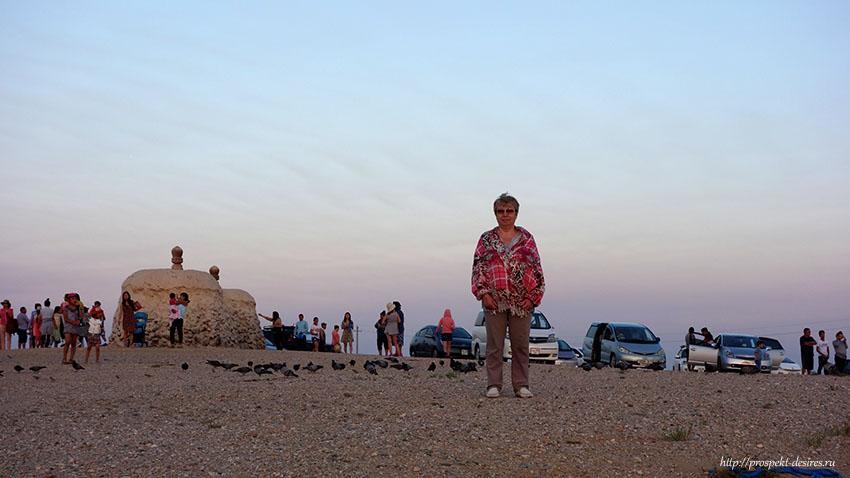 рассвет в пустыне Гоби