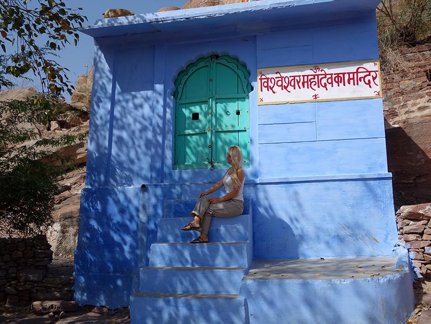 Голубой город Индии