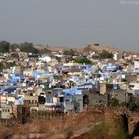 Джодхпур в Индии — голубой город на границе пустыни Тар