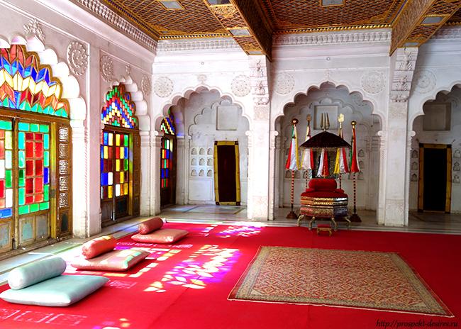 жемчужный дворец в Джодхпуре