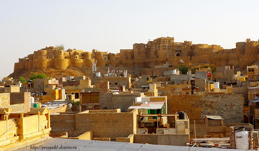 золотой форт джайсалмер
