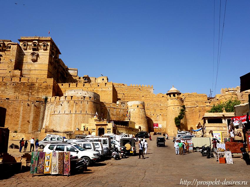 форт в джайсалмере
