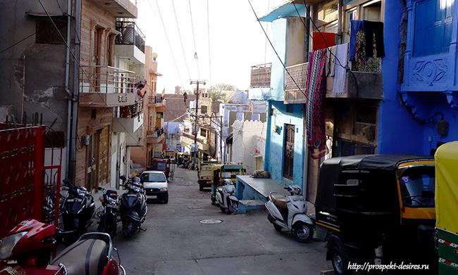джодхпур индия улицы и дома