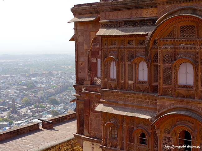 форт голубой город индии