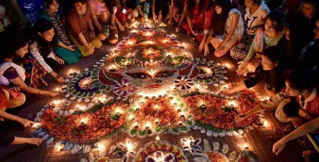 праздник Дивали Индия