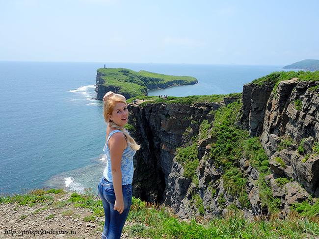 мыс Тобизина на острове Русский