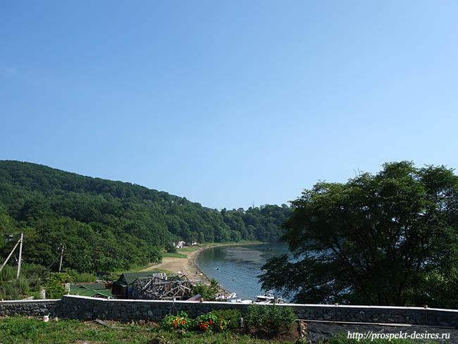 на Японское море на машине