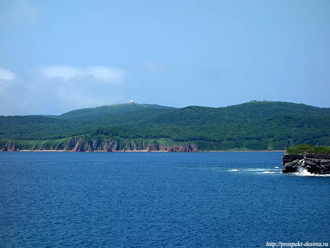 мс Тобизина на острове Русский
