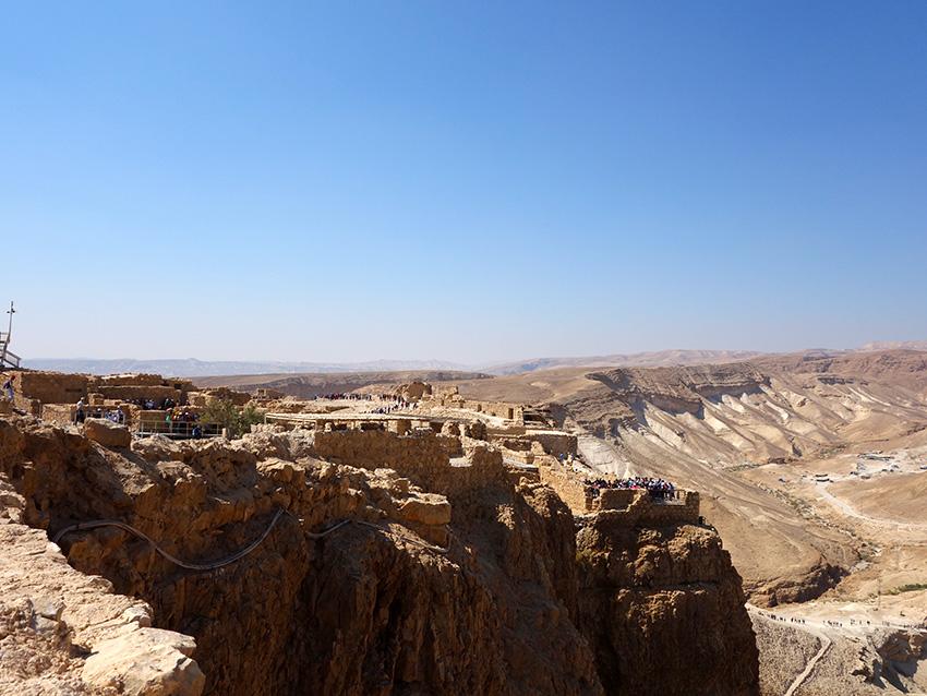 крепость масада что посмотреть в израиле