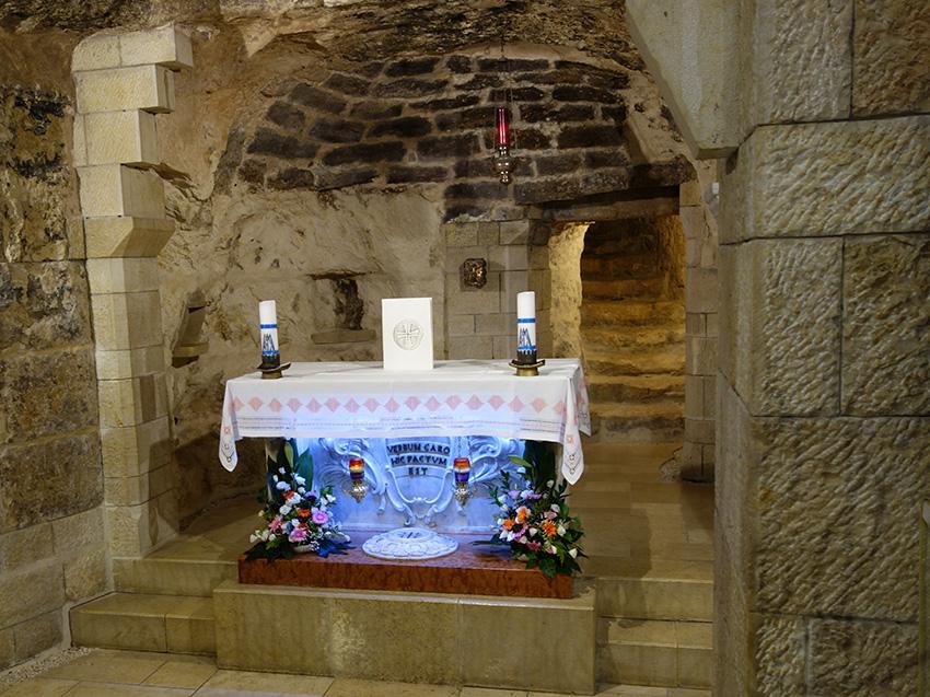 базилика девы марии грот