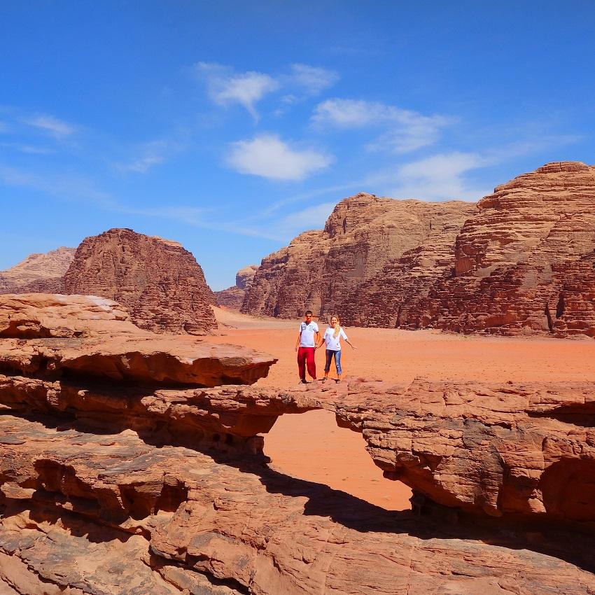 Пустыня Вади Рам Иордания