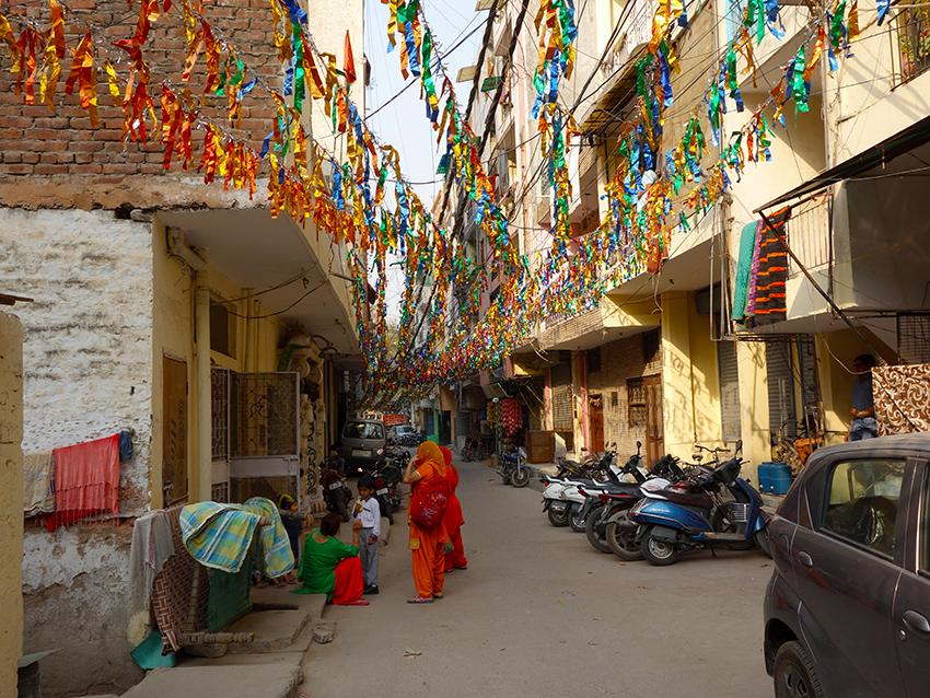 жилой квартал в Дели
