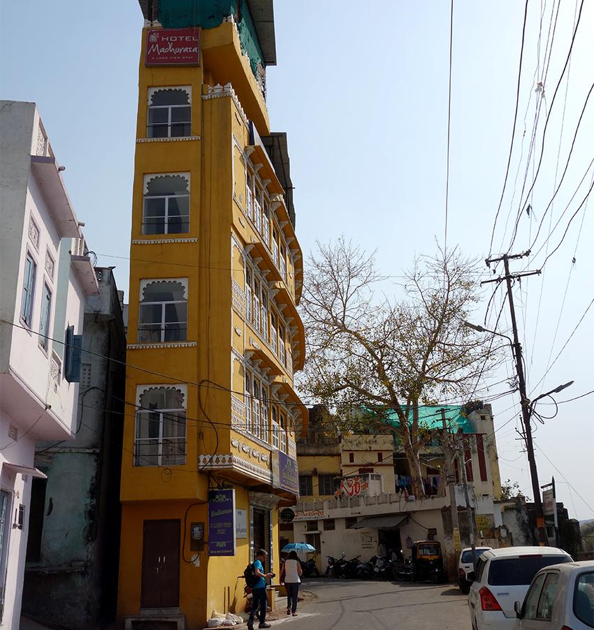 Жилой район в Удайпуре