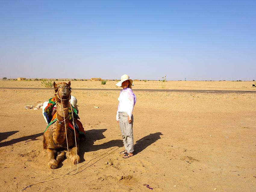 ночевка в пустыне Тар в Индии