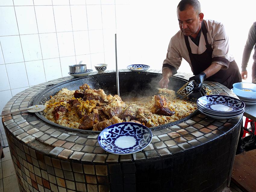 самый вкусный плов в Ташкенте