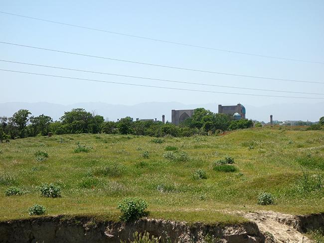 Городище Афросиаб раскопки