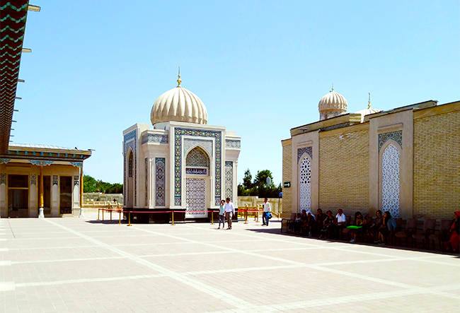 Мавзолей Ислама Каримова в Самарканде