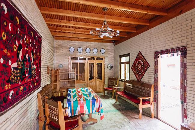 отель в Самарканде в историческом центре