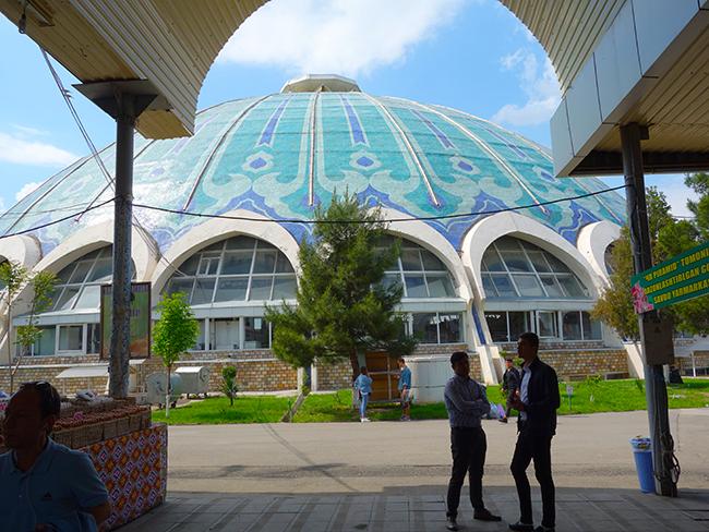 рынок Чорсу в Ташкенте