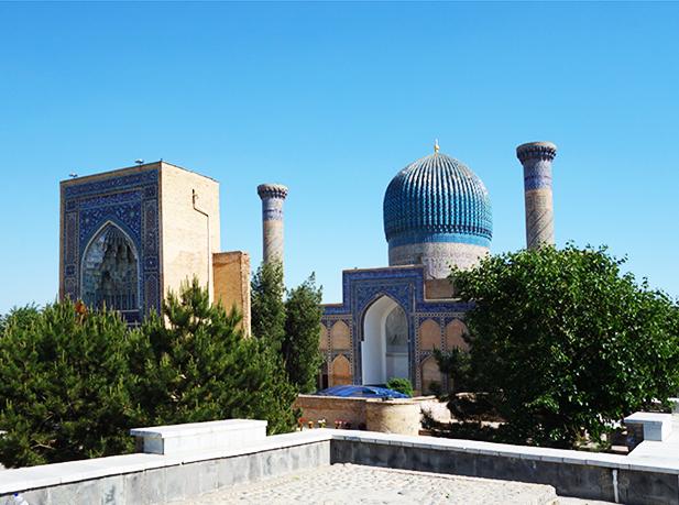 Самарканд мавзолей Тамерлана
