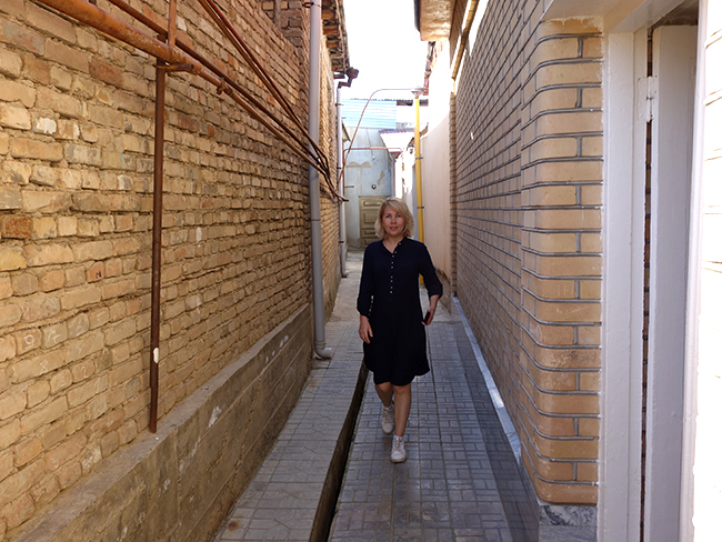 улицы еврейской махаллы