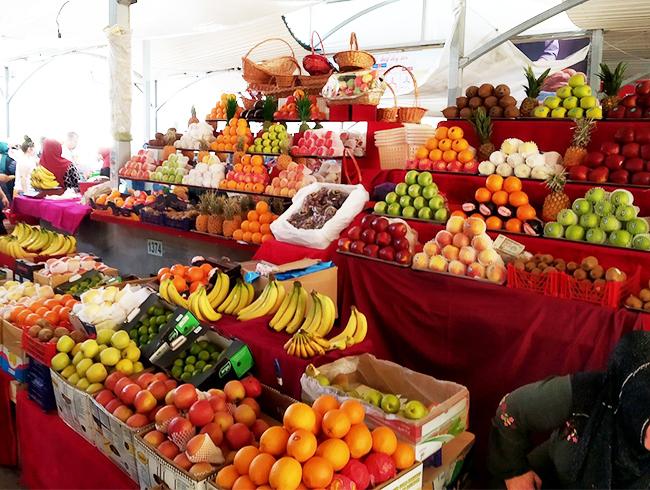 сезон фруктов Узбекистан