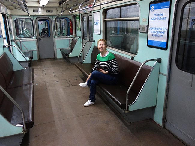 метро в Ташкенте