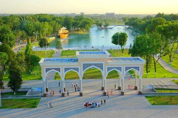Центральный парк в Ташкенте