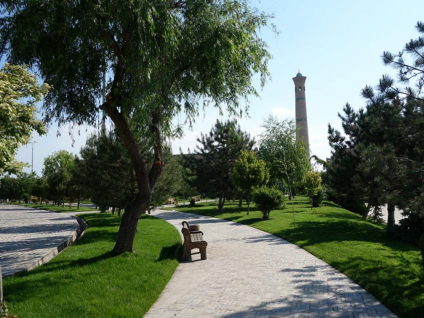 Парк в Ташкенте
