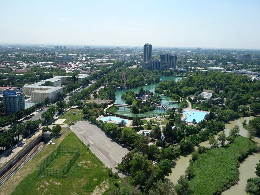 Ташкент с телебашни