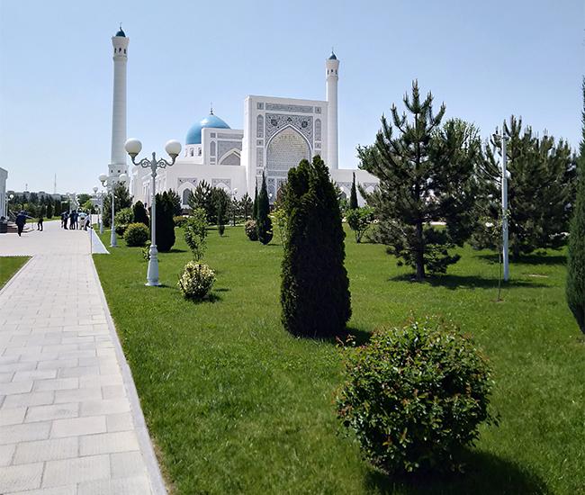 Улицы Ташкента Узбекистан