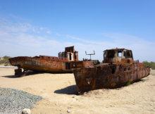 кладбище кораблей узбекистан