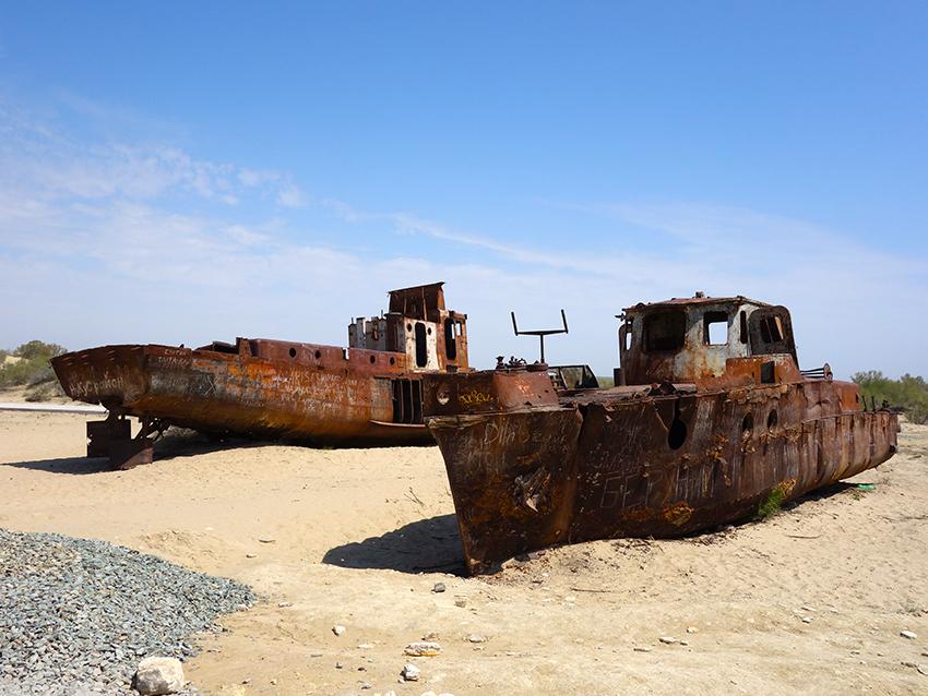 высохшее аральское море